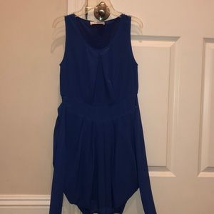 blue periwinkle bubble dress